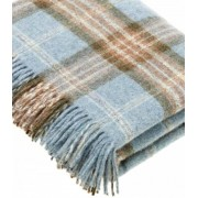 B at Home Plaid Ecossais Bleu - Collection Montacute - 140 X185 cm
