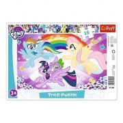 Puzzle Trefl - My Little Pony, 15 piese (64870)