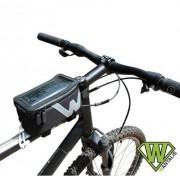 Wantalis sacoche universelle pour smartphone fixation special cadre de velo compatible Apple Iphone 5 se