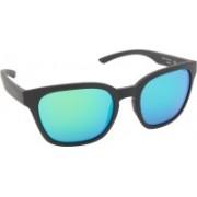 SMITH Rectangular Sunglasses(Green)