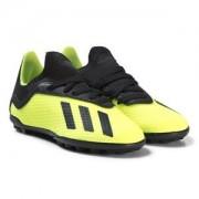adidas Performance Solar 18.3 X Turf Fotbollskor Gul Barnskor 28 (UK 10)