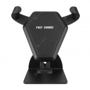 Fast Wireless Charging Car Mount Gravity Linkage Air Vent Phone Holder