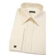 Pánská košile SLIM smetanová s úzkým proužkem Avantgard 514-1103-42/194