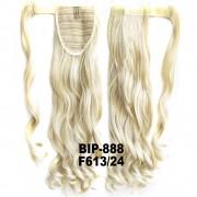 Culík - cop vlnitý, 57 cm se suchým zipem a omotávkou (F613/24 (melír beach blond v platinově plavé)) - Světové Zboží