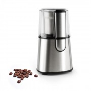 Klarstein SPEEDPRESSO кафемелачка 200W 65G острие от неръждаема стомана сребриста (TK54-Speedpresso)