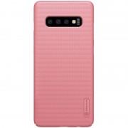 Mobiltillbehör Mobilskal Nillkin Super Frosted Skal Samsung Galaxy S10 Plus Rosé Guld