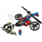Lego 76016 Spider-Helicopter Rescue