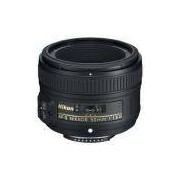 Lente Nikon Fx 50mm F/1.8g Preto