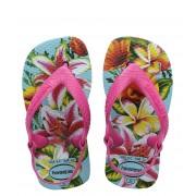Havaianas Slippers Flipflops Baby Chic II Blauw