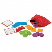 Set tactil Texturi si forme Learning Resources