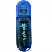 Флаш памет 32GB USB на Take MS модел Colorline - синя на цвят - TMS-COL-BLUE-32GB