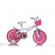 Bicicleta Barbie Dino Bikes diametru 14