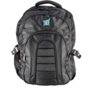 MII Bags Honcho 18 Inch 25 L Laptop Backpack(Black, Blue)