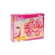Massinha Cookies Coloridos Barbie - Fun