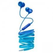 Слушалки Philips слушалки с микрофон за поставяне в ушите, 8,6mm drivers, цвят син, SHE2405BL