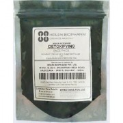 Detoxifying Face Pack (Activated Charcoal Green Tea Powder with Kaolin Multani Mitti Bentonite clay) 100g
