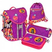 Spiegelburg Школьный рюкзак Bunte Punkte Flex Style с наполнением 11870
