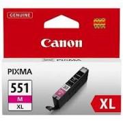 CANON CLI-551XLM, Magenta InkJet Cartridge (BS6445B001AA)