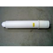 parapet fali átvezetés kondenz átm: 80/125 PPs/Alu PAPA80125