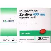 ZENTIVA ITALIA Srl Ibuprofene Z, 400mg Capsule Molli, 20 Capsule In Blister Pvc/pvdc/al