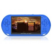 Rybozen Handheld Game Console, Game Player with 5.1 inch screen 3000 games 16GB System Portable Video Games, Supports Multiple File Formats, Best Gifts for Boys Kids Children Toys (blue)