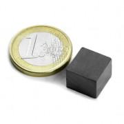 Magnet ferita bloc, 12x12x10 mm, putere 600 g