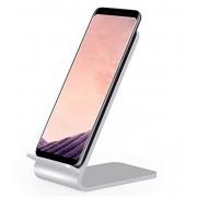 Caricabatterie Wireless Fast Qi Stand Verticale 10W Lega di...
