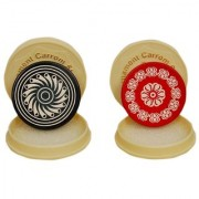 Carrom striker with Smoth surface combo pak