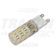 LED-es fényforrás, 4W-os teljesítményű, G9 foglalattal, 4000K-es színhőmérsékletü, SMD LED ( 300 lm ) Tracon ( LG9S4NW )