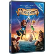Tinkerbell and the Pirate Fairy:Mae Whitman, Christina Hendricks, Tom Hiddleston - Clopotica si zana pirat (DVD)