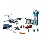 Lego City Polícia aérea, base aérea, 60210Multicolor- TAMANHO ÚNICO