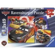 PUZZLE CARS-AVENTURA PE SOSEA 3x49 PIESE Ravensburger