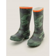 Mini Bottes de pluie MUL Garçon Boden, Green - 29