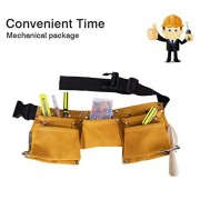 Greatstar Kids Tool Belt, Construction Tool Belt Child's Tool Apron, Candy Pouch for Youth Dress Up and Costume (Yellow)