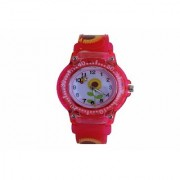 VITREND(R-TM)New Good Looking Flower Pattern Sunflower Dial Analog Watch for Boys Girls(Sent as per Available Colours)