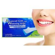 Set 28 benzi albire dinti Dental 360 White - tratament pentru 14 zile