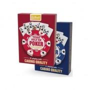 Cărți Trefl - Texas Hold'em Poker - Calitate cazino 100% plastic