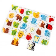 Imported ABC Alphabet Letters Animal Match Puzzle Baby Kids Toy Set