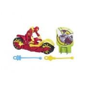 Iron Spider Avec Moto Lance-Toile - Spider-Man : Web Warriors - Hasbro 2660