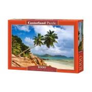 Puzzle Plaja secreta - Seychelles, 1000 piese