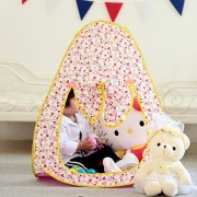 HKH Children's Play Tent Playground Pop -up Indoor Outdoor Gamehouse Toy Hut Easy Fold