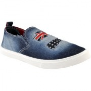 Clymb Comfy-9 Blue Denim Shoes For Men's In Various Sizes