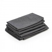 Blumfeldt Theia fundas de tapicería 8 piezas 100% poliéster impermeable gris oscuro (GDMC5-Theia Covers D)