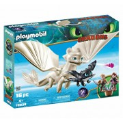 Playmobil Dragons III, Light Fury si pui de dragon