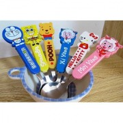 Baby Spoon Set 6pcs Cartoon Design Innovative/Ideal way to feed your baby