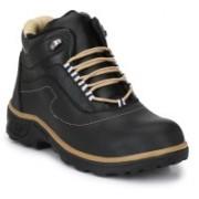 Kavacha Kavacha Steel Toe Safety Shoe, S5 Boots For Men(Black)