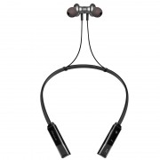 CSR8635 V4.2 Sports Stereo Wireless Magnetic Bluetooth Earphone with Microphone - Black