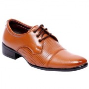00RA MEN'S DRESS SHOE Tan COLOR OFFICE WEAR FORMAL BEIGE SHOES FOR MEN
