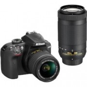 Digital Camera D3400 18-55 & 70-300 VR