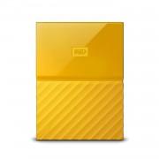 Western Digital MyPassport HDD 4TB USB 3.0 - преносим външен хард диск с USB 3.0 (жълт)